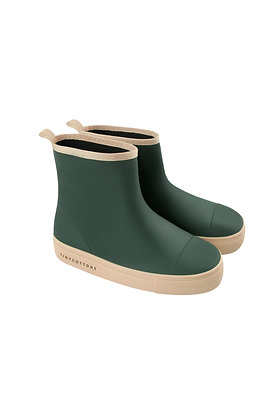Tiny Cottons Solid Rain Boot (Bottle Green)