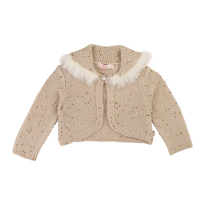 Billieblush Baby Knitted Cardigan (Gold)