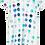 Thumbnail: Beau Loves T-shirt Dress (Natural/Paint Pallet Dots)
