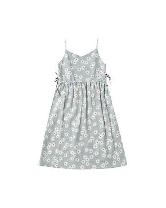 Rylee + Cru Daisy Lacy Dress (Sky)