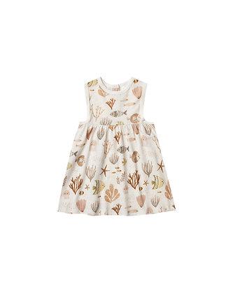 Rylee + Cru Sea Life Layla Dress (Ivory)