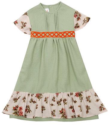 Frou Frou Florence Dress (Green)