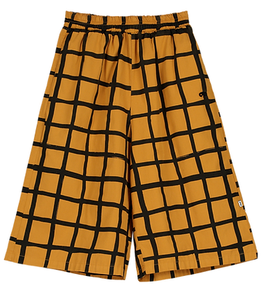 Beau Loves Culottes/Oversized Shorts (Dark Camel)