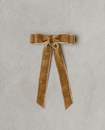 Noralee Velvet Bow (Golden)