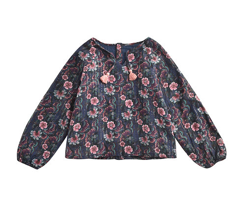 Louise Misha Calleta Blouse (Storm Flowers)