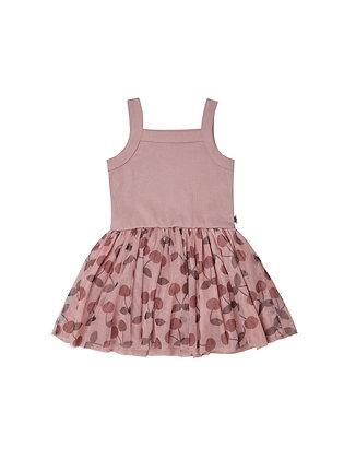 Huxbaby Cherry Summer Ballet Dress (Berry)