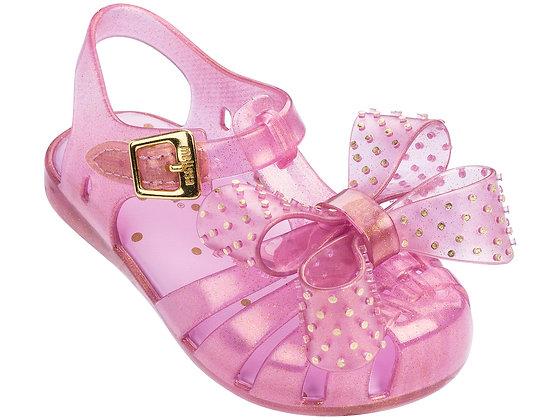 Mini Melissa Aranha XIII (Pink Glitter)