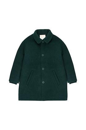 Tiny Cottons Woolen Coat (Bottle Green)
