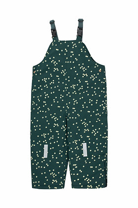Tiny Cottons Daisies Dungarees  (Ink Blue/Light Cream)