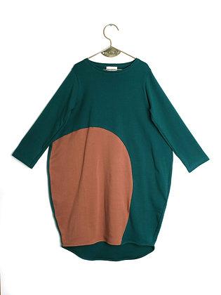 WOLF & RITA DRESS ANABELA (BRICK SUN)