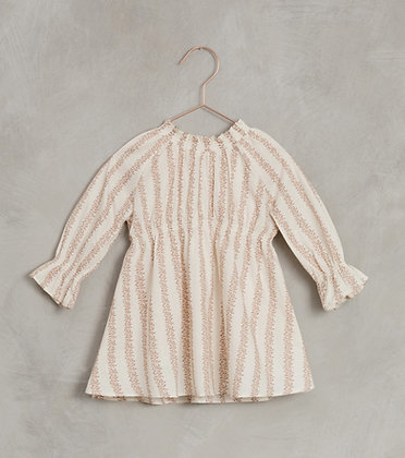 Noralee Rose Striped Chloe Dress (Shell)