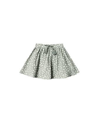 Rylee + Cru Butterfly Mini Skirt (Seafoam)