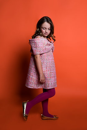 AIRFISH ARIEL DRESS (PINK TWEED)