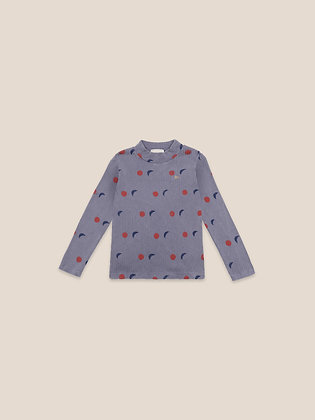 Bobo Choses Night All Over Turtle Neck T-shirt