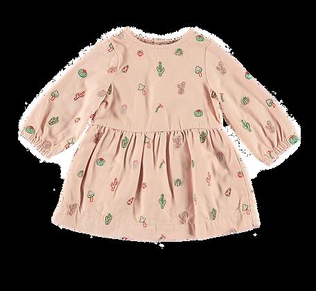 Stella McCartney Baby Girl Cactus & Mushrooms Dress (Pink)