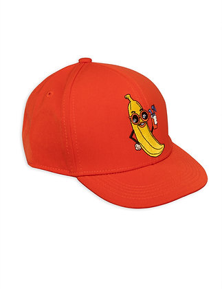 Mini Rodini Banana Trucker Cap (Red)