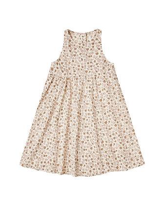 Rylee + Cru Delicate Flower Zoe Maxi Dress (Natural)