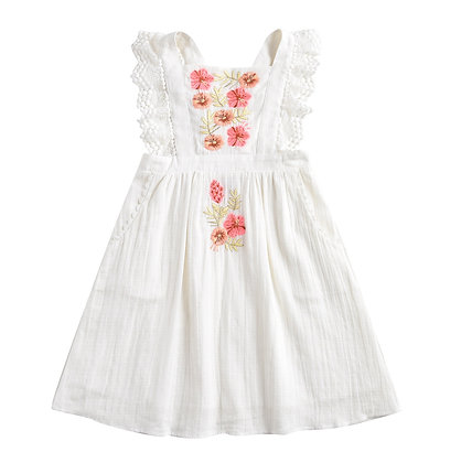 Louise Misha Oxaca Dress (White)