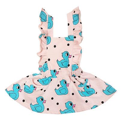 Hugo Loves Tiki Hop Scotch Dress (Pink Rubber Ducky)