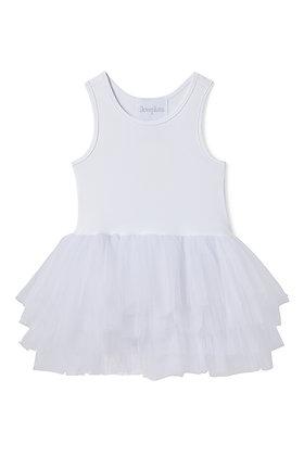Plum B.A.E. Tutu Dress (Lucy White)