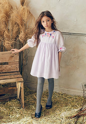 Nellystella Clover Dress (Soft Lilac)