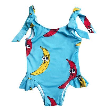 Hugo Loves Tiki Bow Swimsuit - Blue Banana