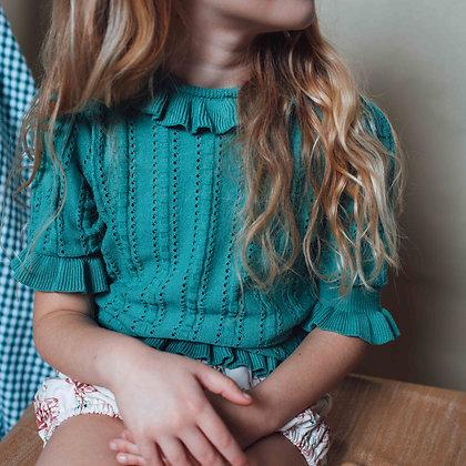 Birinit Petit Green Knit Sweater