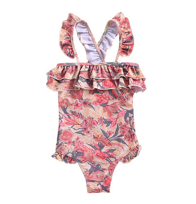 Louise Misha Zacatecas Bathing Suit (Pink Flowers)