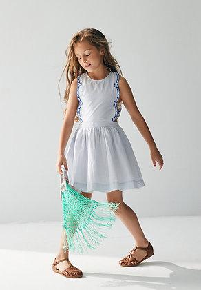 Nellystella Emma Dress (Small Blue Checks)