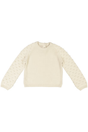 Louise Misha Adeyinka Jumper (Cream)