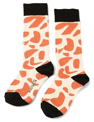 Wolf & Rita Superbacana Laranja Socks
