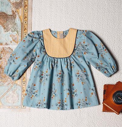 Birinit Petit Vestido Flor Soplillo Dress
