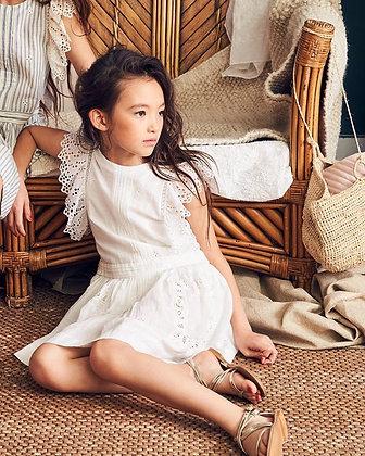 NELLYSTELLA ZOE DRESS (BRIGHT WHITE)