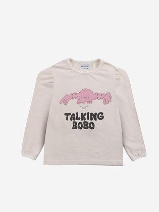 Bobo Choses Girl Talk Girl T-shirt