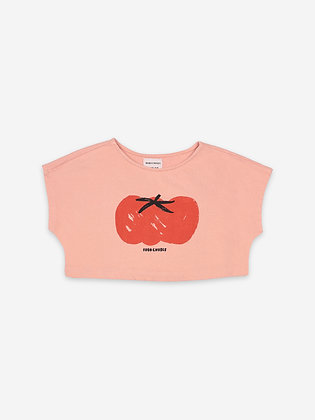 Bobo Choses Tomato Cropped Sweatshirt