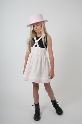 Carbon Soldier Solomone Skirt (Pink/Ivory)