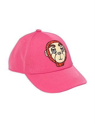 Mini Rodini Monkey Cap (Pink)