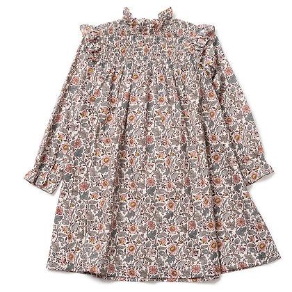 Bonton/Bonbon Babouch Dress (Liberty Ecru)