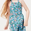 Thumbnail: Oeuf Overall Dress (Blue Flowers)