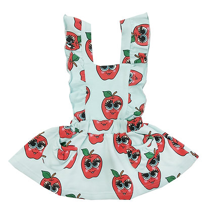Hugo Loves Tiki Hop Scotch Dress (Blue Apples)