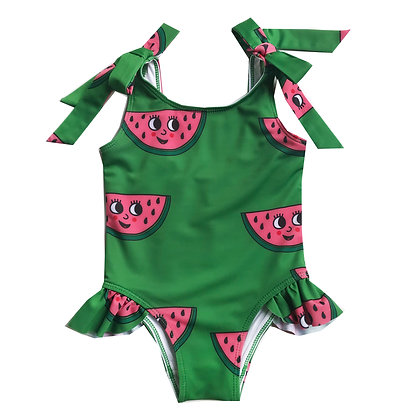 Hugo Loves Tiki Bow Swimsuit  - Green Watermelon