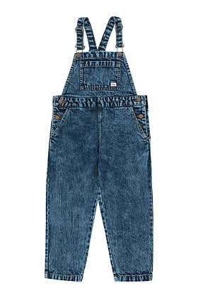 Tiny Cottons Denim Overall (Snowy Blue)