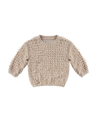 Rylee + Cru Slouchy Pullover Sweater (Oat)