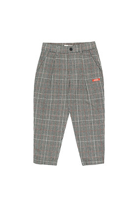 Tiny Cottons Tweed Pleated Pant (Multicolor)