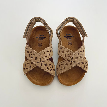 """Pepe """"Two con me"""" Style BK12 Suede Camel"""