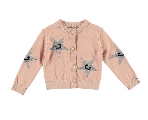Stella McCartney Baby Girl Start Cardigan (Pink)