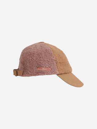 Bobo Choses Color Block Sheepskin Cap