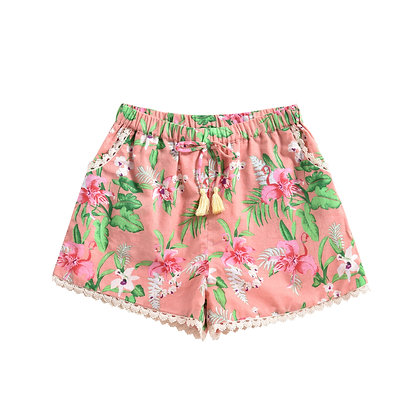 Louise Misha Vallaloid Shorts (Sienna Flamingo)