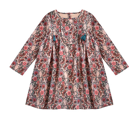 Louise Misha Roulette Dress (Blush Flowers)