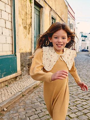Liilu Rib Dress (Wheat)